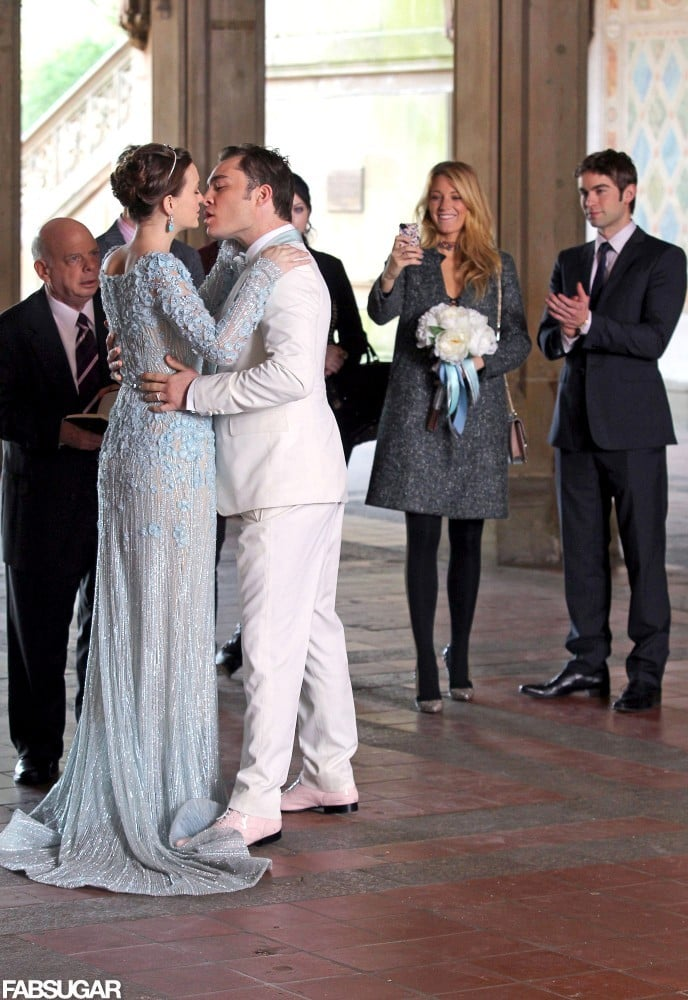 Blair Waldorf\'s Wedding Dress With Chuck Bass | Pictures | POPSUGAR ...