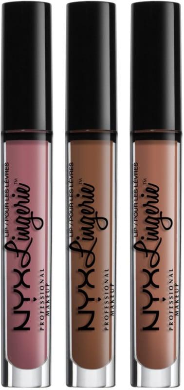 NYX Lip Lingerie Set in Embellishment, Beauty Mark, Baby Doll