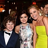 Modern Family's Ariel Winter, Julie Bowen, and Nolan Gould celebrated the show's big win.