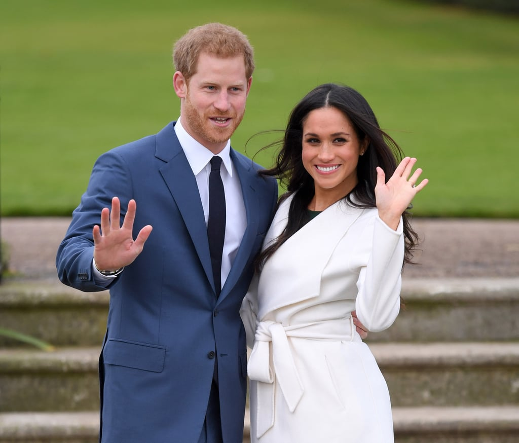 "Harry on their romantic-comedy-worthy meeting: ""This beautiful woman just literally tripped and fell into my life."" Harry on how he wooed Meghan: ""We had two dates in London last July, and it was I think about three, maybe four weeks later that I managed to persuade her to come and join me in Botswana, and we camped out with each other under the stars."" Harry on why he doesn't see their short courtship as an issue: ""The fact that I fell in love with Meghan so incredibly quickly is confirmation to me that all the stars are aligned."""