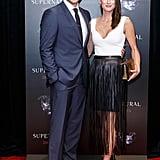 Danneel helped Jensen celebrate the 200th episode of Supernatural during a red carpet event in October 2014.