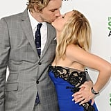 Photos of Kristen Bell and Dax Shepard Kissing