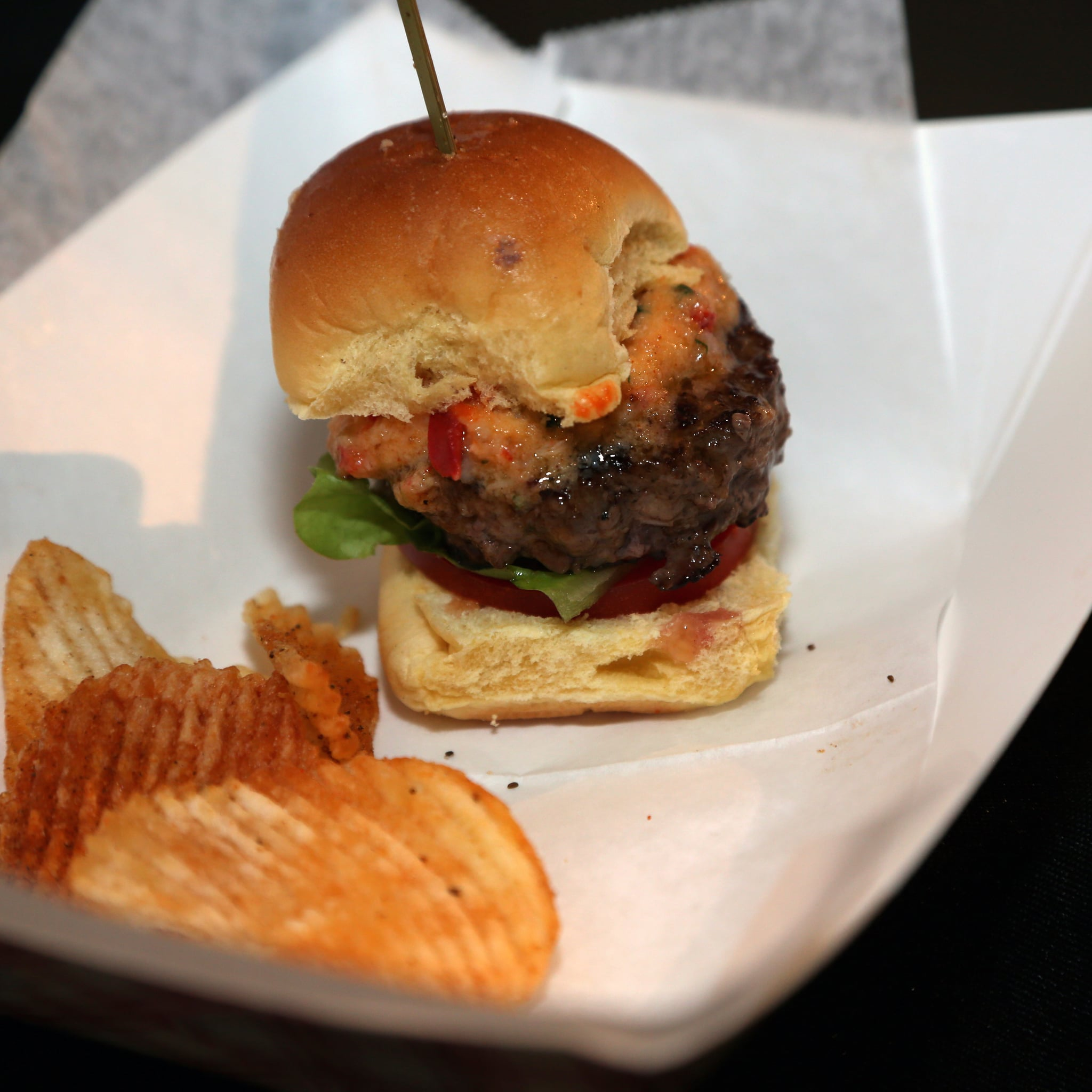 Surf and Turf Burgers