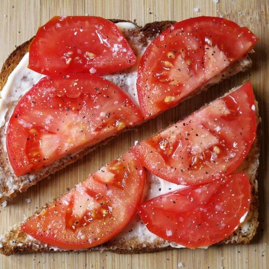 Tomato Mayonnaise Sandwich Picture