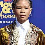 Storm Reid at the MTV Movie & TV Awards