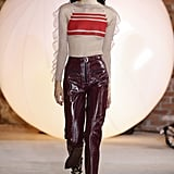 The Self-Portrait Girls Pairing Structured Pants With Floaty Tops
