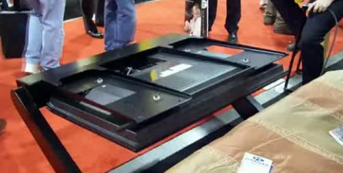 Would You Want a Motorized TV Under Your Bed?