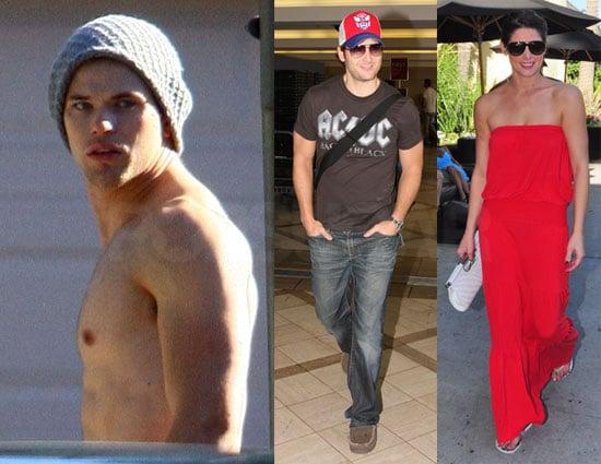 Photos of Twilight's Peter Facinelli, Kellan Lutz, And Ashley Greene Spending Their Weekend in LA