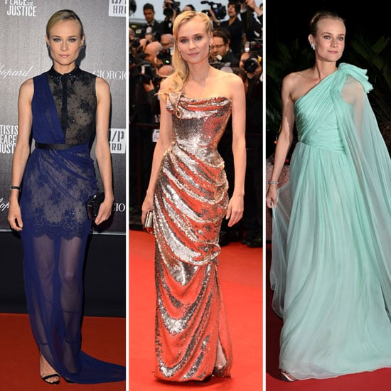 Diane Kruger's Best Looks from the 2012 Cannes Film Festival: See All Of Her Stunning Cannes Style!