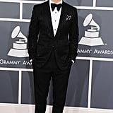 Justin Timberlake donned a bow tie.