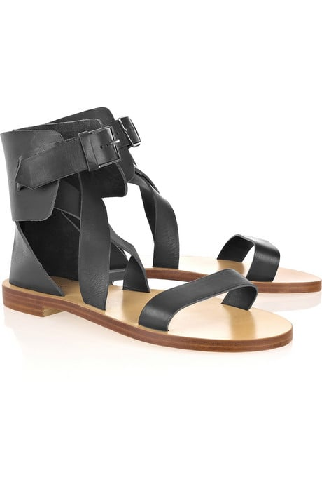 Chloé Multi-Strap Leather Sandals ($495)