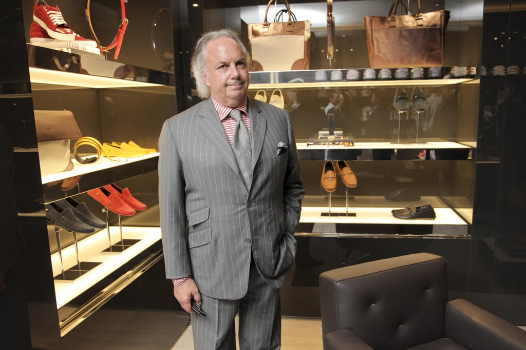 Alan Flusser at the opening of Canali's Madison Avenue flagship store in New York. Source: Paul Porter/BFAnyc.com