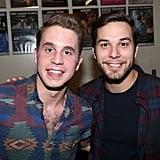 Ben Platt and Skylar Astin
