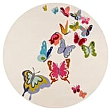 Floating Butterflies Rug