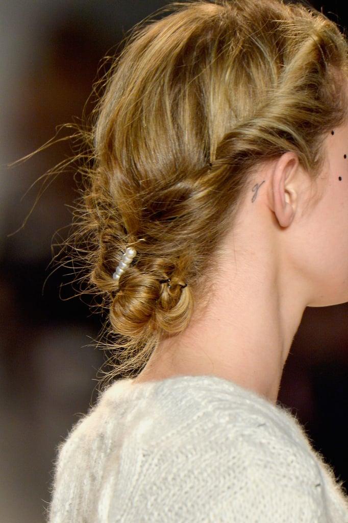 Lela Rose Fall 2014 Hair and Makeup | Runway Pictures