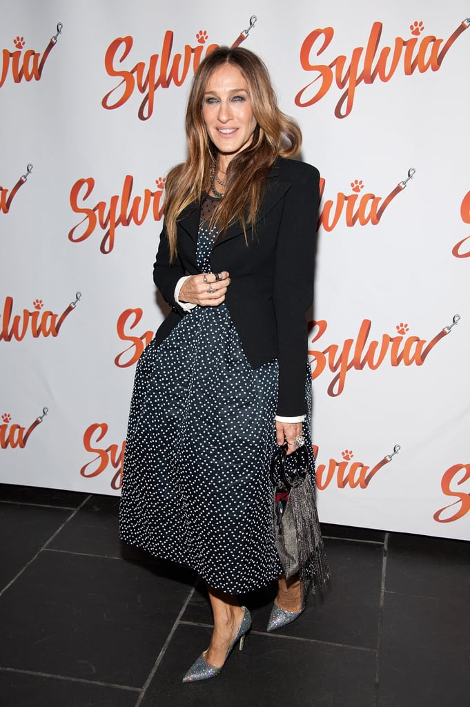 Did you learn any Italian while you were there?  SJP: I tried! You know, to say please [laughs]. . . And the days of the week, so I could go over the call sheet for the next day and my call time [laughs].  How much of Italy did you get to see?  SJP: Not a terrible lot. We shot [mostly] I would say in Rome's environs, rather than Rome proper, and in Perugia. We were housed in an area called Viterbo for a lot of it, so we couldn't go back and forth to Rome. But it was interesting. I met a really nice family and stayed at their inn — they were just lovely and fantastic. And then I went online and found a little apartment in Rome, which was quite beautiful, for the time period that we were there. Not fancy at all, but it looked over this beautiful church, La Maddalena. It was very central, so I could walk everywhere on the weekends . . . We really took advantage of our weekends.