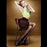 Natasha Poly strikes a pose in Proenza Schouler. Source: Fashion Gone Rogue