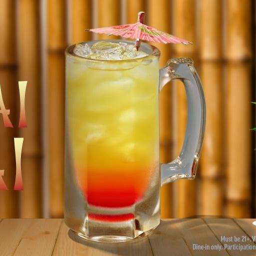 Applebee's Mai Tai Drink August 2019