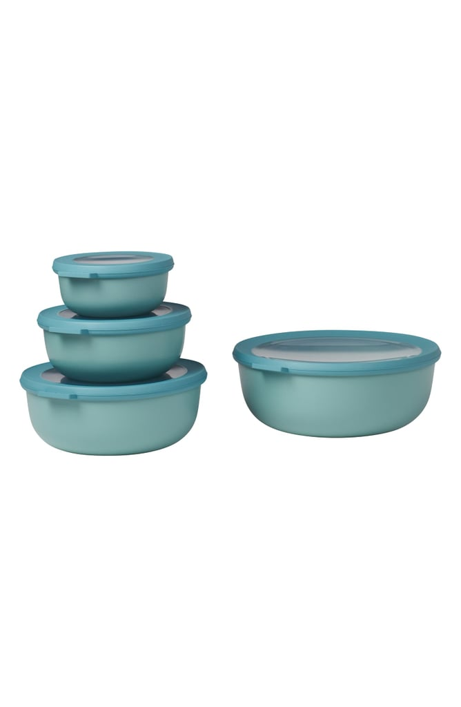 Rosti Mepal Cirqula Set of 4 Shallow Storage Bowls