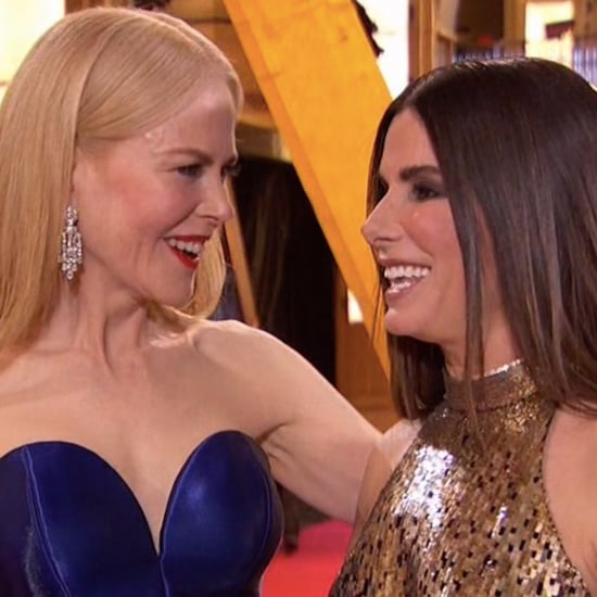 Sandra Bullock and Nicole Kidman at the 2018 Oscars