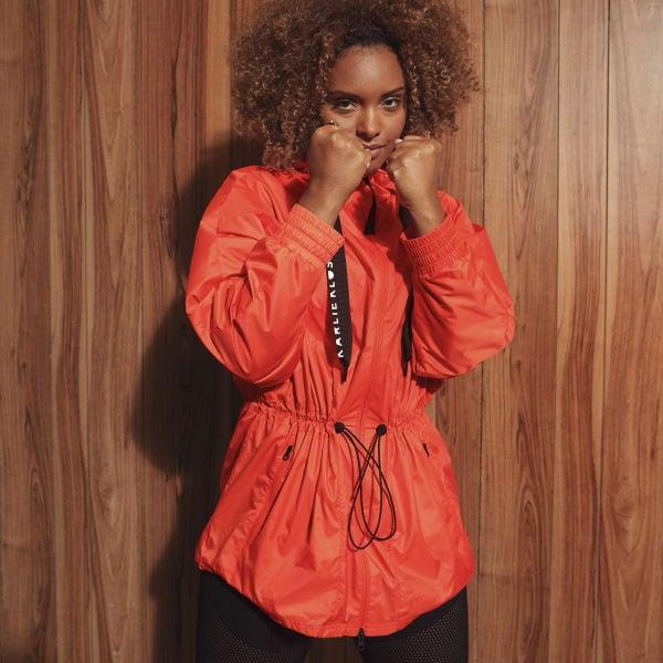 Adidas Karlie Kloss WIND.RDY Parka - Orange
