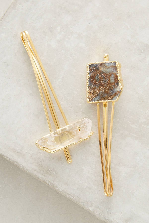Stone Bobby Pin Set