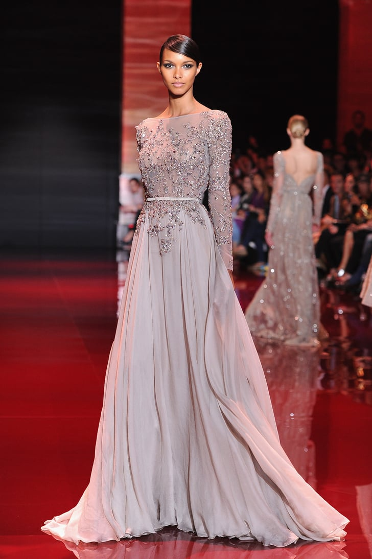 Elie saab haute couture fall 2013 elie saab at paris for Haute couture fashion