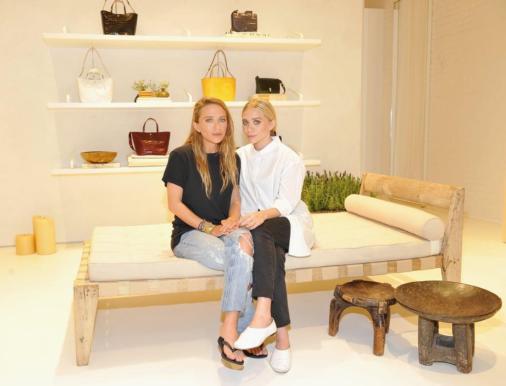 23f244c284 Ashley Olsen Wearing Jeans