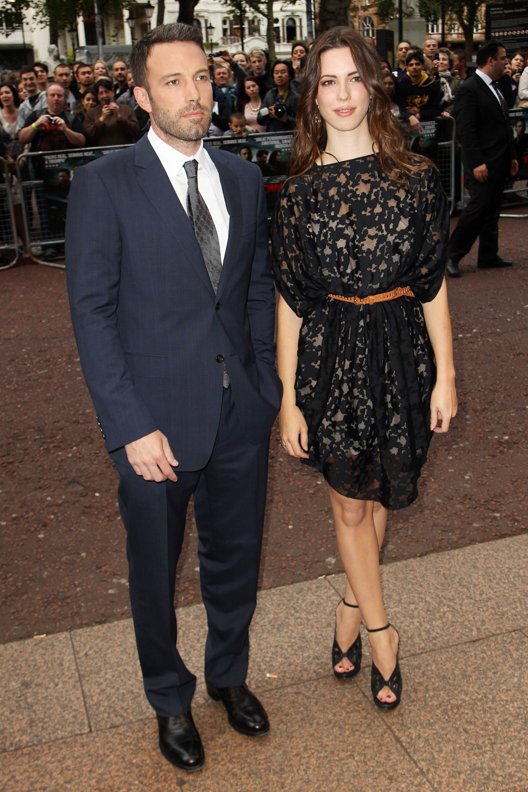 West End Auto >> Ben Affleck and Rebecca Hall at The Town UK Premiere in London | POPSUGAR Celebrity Australia