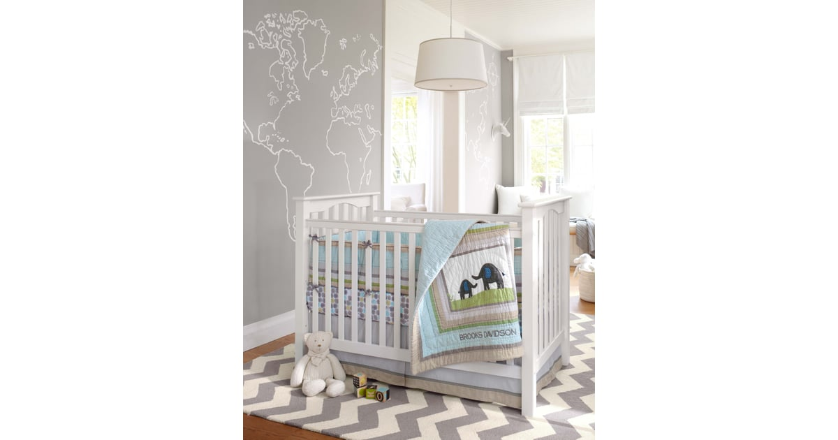 The Gender Neutral Brooks Nursery Collection Is A Sweet
