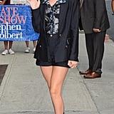 Millie Bobby Brown in New York City in 2017