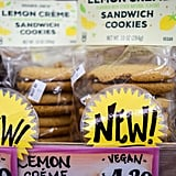 Trader Joe's Lemon Creme Sandwich Cookies ($4)