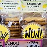 Trader Joe's Lemon Creme Sandwich Cookies