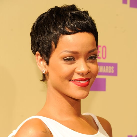 Rihanna's New Haircut at the 2012 MTV VMAs
