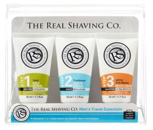 The Real Shaving Co. Travel Set (£6)