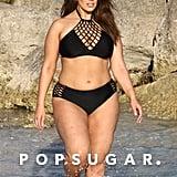 Ashley Graham's Black Lace-Up Bikini