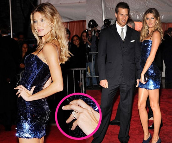 Photos of Gisele Bundchen and Tom Brady At The 2009 Costume Institute Gala