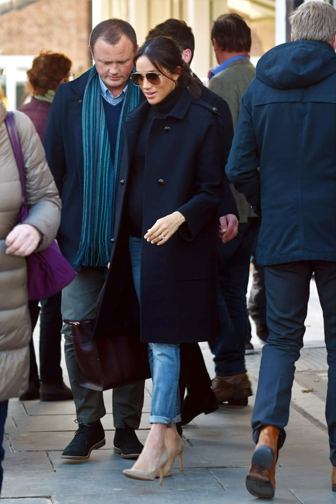 Meghan Markle Wearing Jeans Jan. 2019