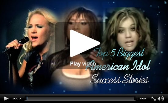 PopSugar Rush Special: American Idol's Top 5 Success Stories!