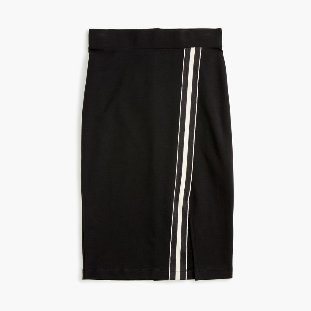 Universal Standard x J.Crew French Terry Slit Skirt