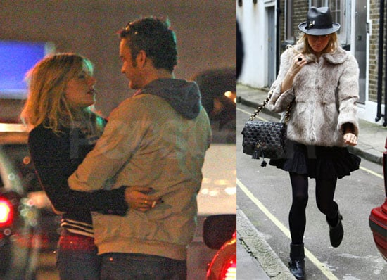 Photos of Sienna Miller, Who's Heading to Broadway, With Balthazar Getting Kissing at LAX