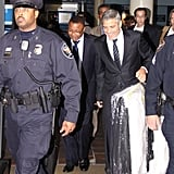 George Clooney arrived in DC.