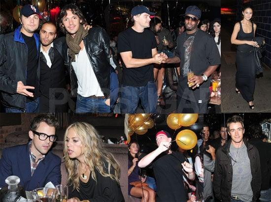 Photos of Leonardo DiCaprio at 1OAK For Richie Akiva's Birthday