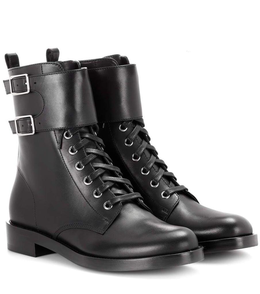 Gianvito Rossi Combat Boots