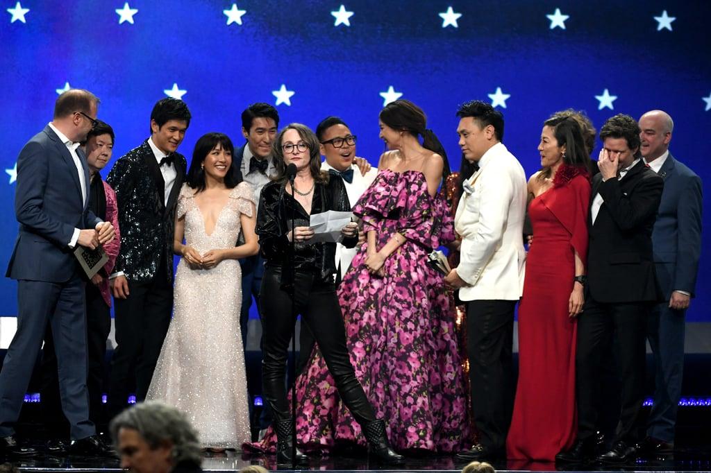 Crazy Rich Asians Cast at the 2019 Critics' Choice Awards