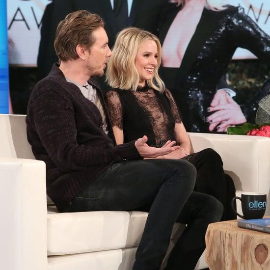 Kristen Bell Dax Shepard on Ellen DeGeneres Show Jan. 2017