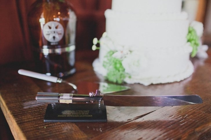 Lightsaber Cake Knife Star Wars Wedding Ideas Popsugar