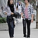 Joe Jonas and Camilla Belle