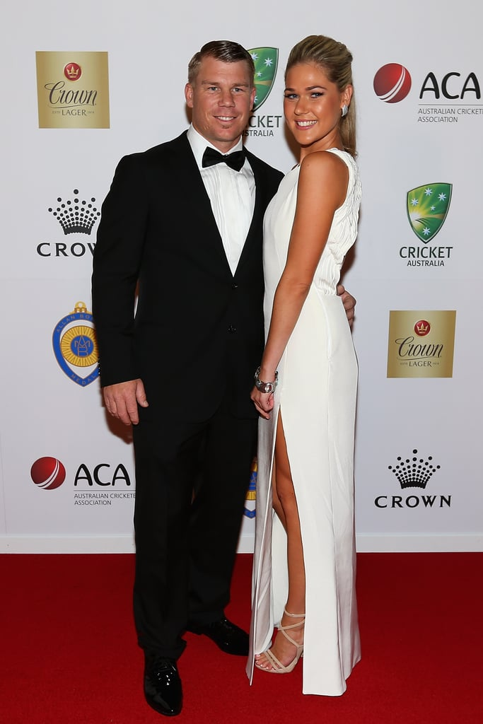 David Warner and Samantha Williams