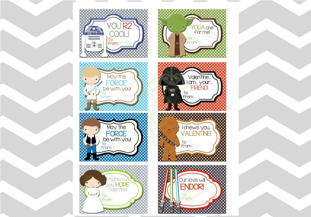 Star Wars Kids Valentines Day Cards – Star Wars Valentine Cards